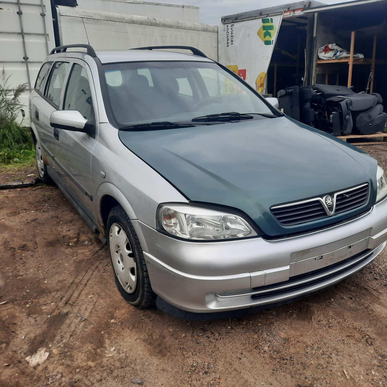 Naudotos automobilio dalys Opel ASTRA 1999 2.0 Mechaninė Universalas 4/5 d. Pilka 2021-9-28