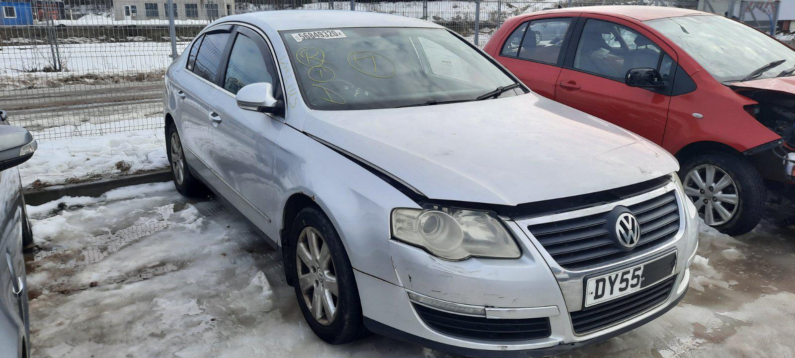 Подержанные Автозапчасти Volkswagen PASSAT 2005 1.9 машиностроение седан 4/5 d. серебро 2021-2-25
