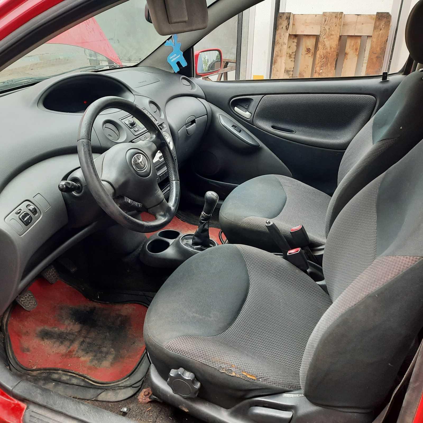 Naudotos automobilio dalys Toyota YARIS 2004 1.4 Mechaninė Hečbekas 2/3 d. Raudona 2021-9-22