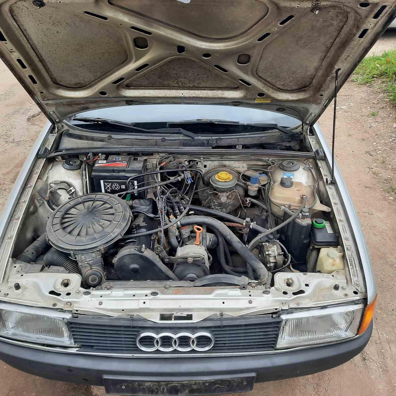 Naudotos automobiliu dallys Foto 3 Audi 80 1989 1.8 Mechaninė Sedanas 4/5 d. Pilka 2021-10-01 A6700