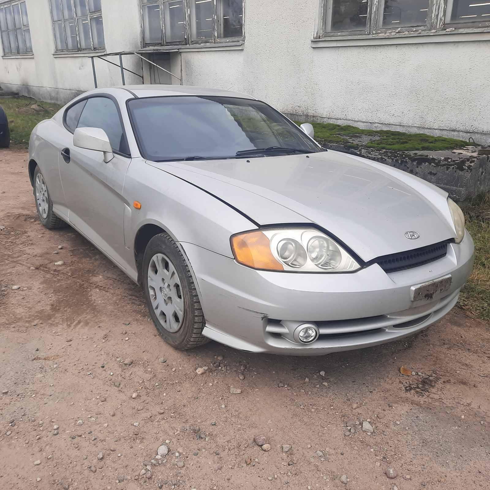 Naudotos automobilio dalys Hyundai COUPE 2003 1.6 Mechaninė Kupė 2/3 d. Pilka 2021-9-29
