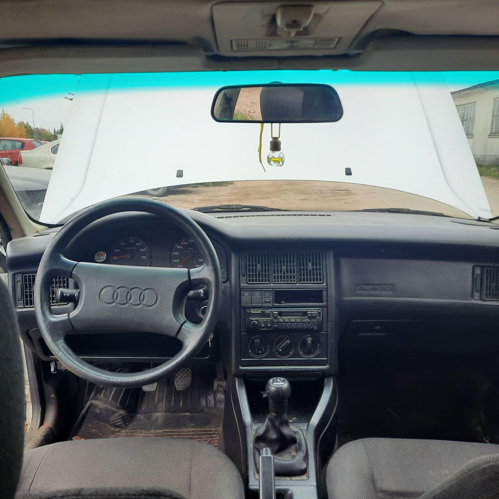 Naudotos automobiliu dallys Foto 8 Audi 80 1989 1.8 Mechaninė Sedanas 4/5 d. Pilka 2021-10-01 A6700