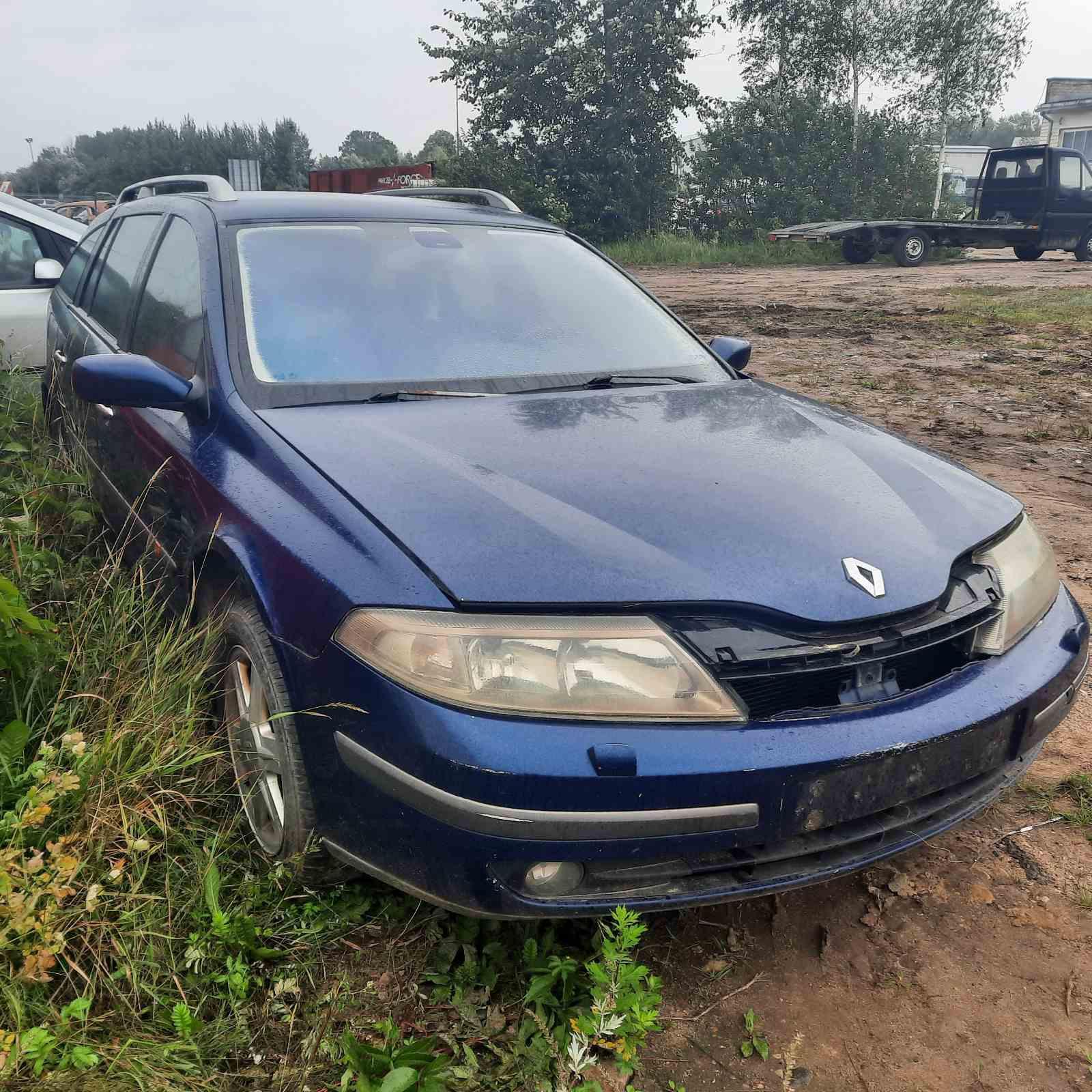 Naudotos automobilio dalys Renault LAGUNA 2002 1.9 Mechaninė Universalas 4/5 d. Melyna 2021-8-12