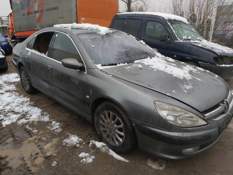 Naudotos automobilio dalys Peugeot 607 2002 2.2 Mechaninė Sedanas 4/5 d. Pilka 2020-12-01