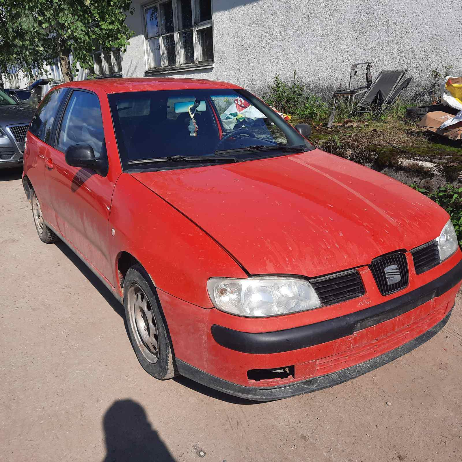 Naudotos automobilio dalys Seat IBIZA 1999 1.9 Mechaninė Hečbekas 2/3 d. Raudona 2021-8-09