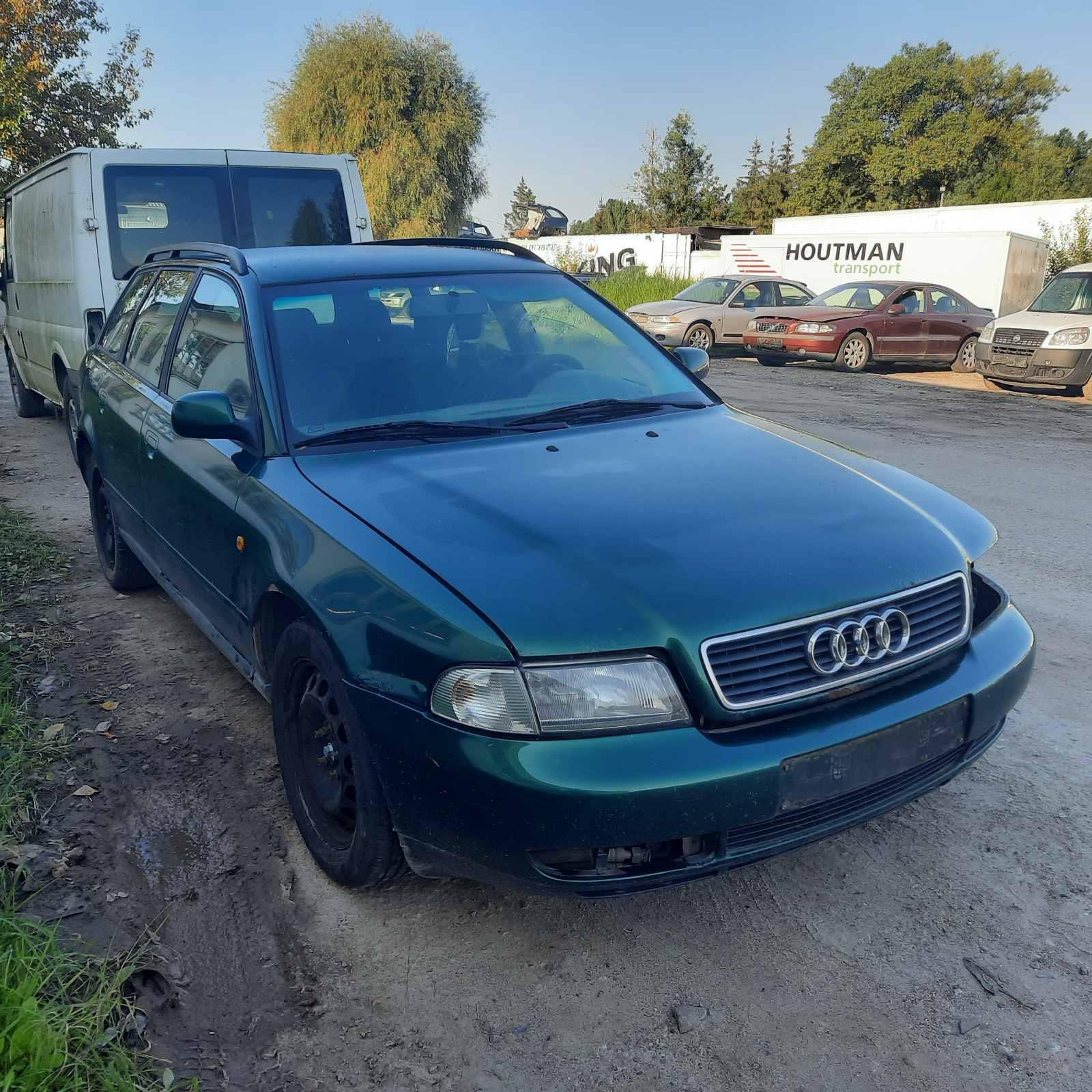 Naudotos automobilio dalys Audi A4 1997 1.9 Mechaninė Universalas 4/5 d. Zalia 2021-9-07