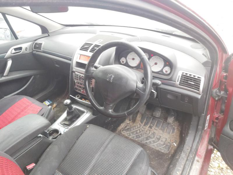 Naudotos automobilio dalys Peugeot 407 2007 1.6 Mechaninė Sedanas 4/5 d. Raudona 2020-12-03