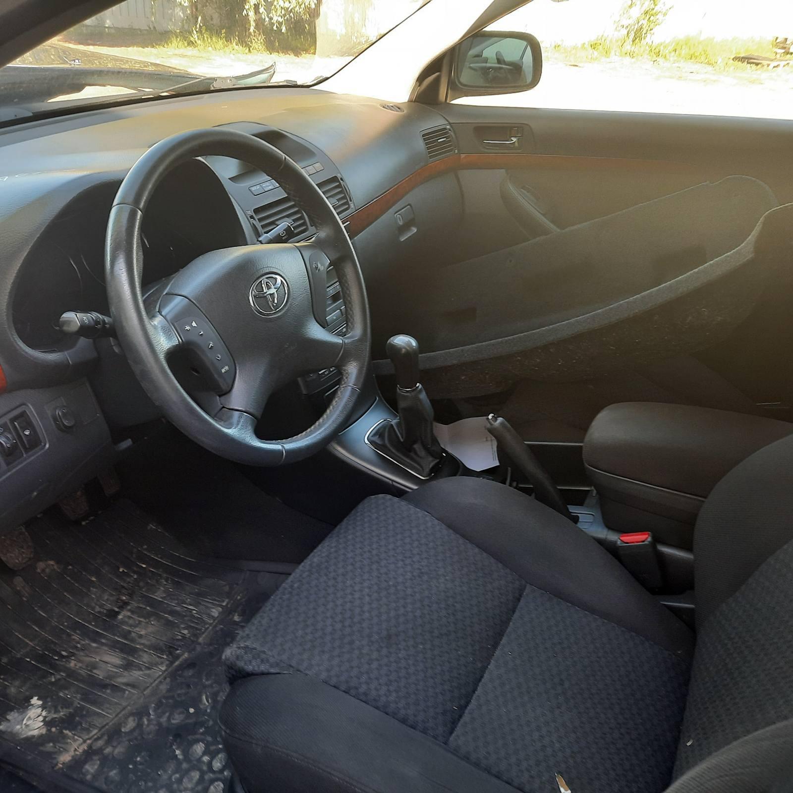 Naudotos automobilio dalys Toyota AVENSIS 2006 1.6 Mechaninė Sedanas 4/5 d. Melyna 2021-6-14