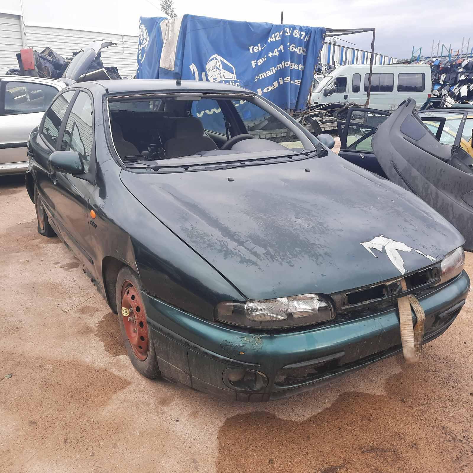 Naudotos automobilio dalys Fiat BRAVA 1999 1.6 Mechaninė Hečbekas 4/5 d. Zalia 2021-8-19