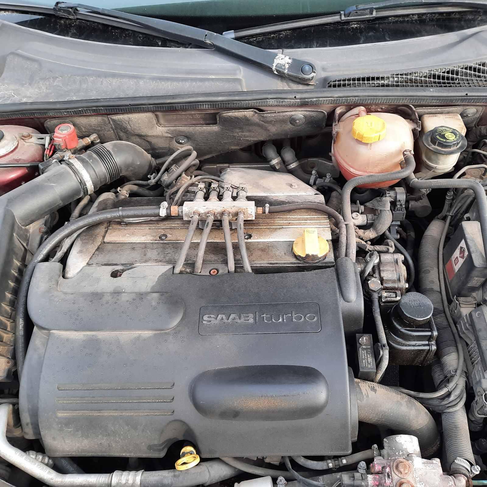 Naudotos automobiliu dallys Foto 2 SAAB 9-3 2004 2.0 Automatinė Sedanas 4/5 d. Raudona 2021-4-29 A6184