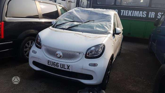 Used Car Parts Smart FORFOUR 2016 0.9 Automatic Hatchback 4/5 d. white 2021-4-16