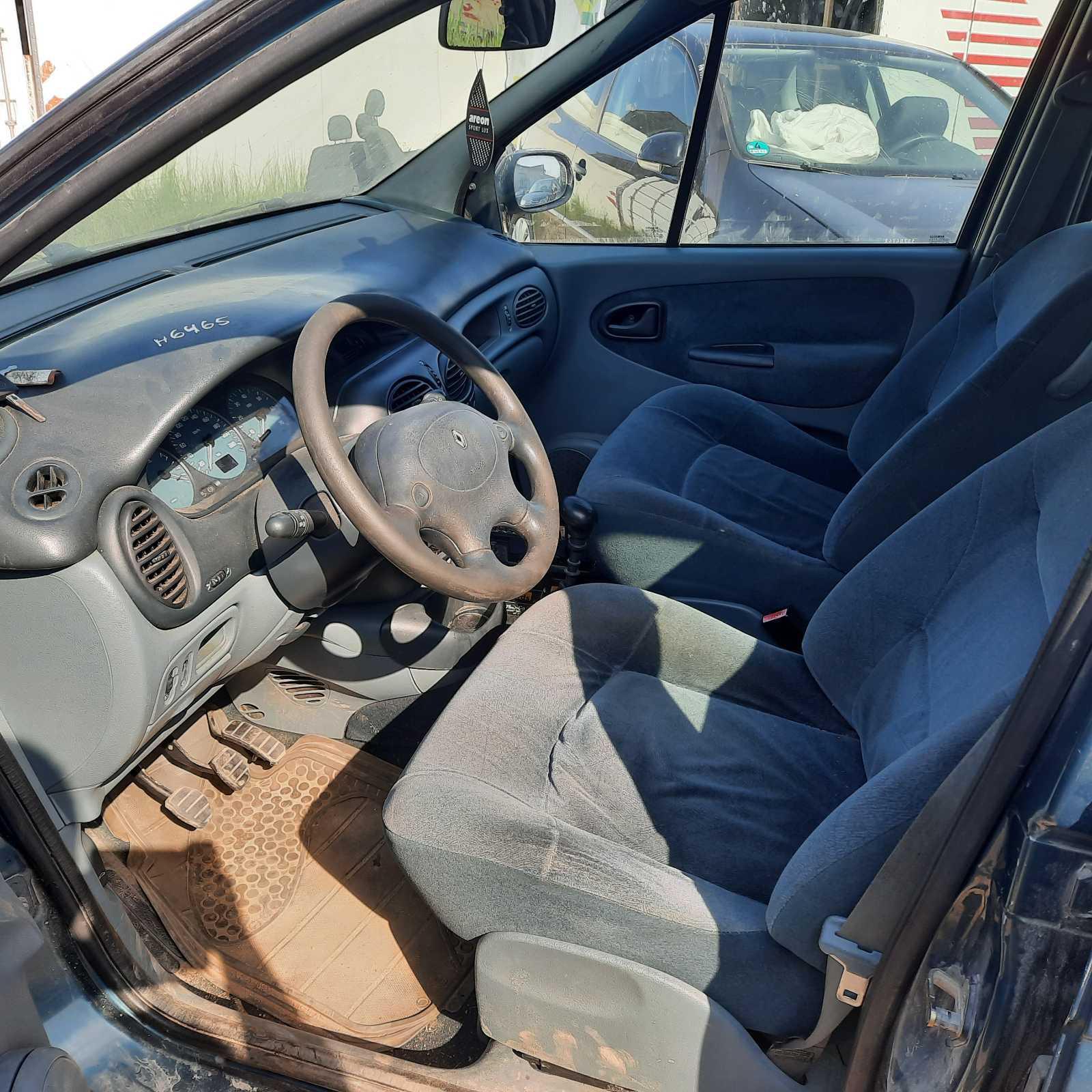 Подержанные Автозапчасти Renault SCENIC 1997 1.6 машиностроение минивэн 4/5 d. зеленый 2021-7-23