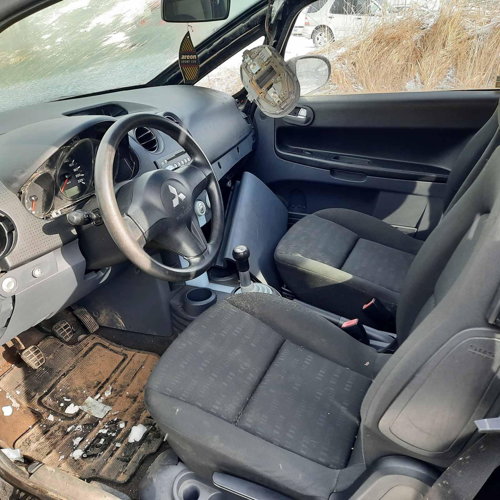 Naudotos automobilio dalys Mitsubishi COLT 2005 1.3 Mechaninė Hečbekas 2/3 d. Juoda 2021-3-19