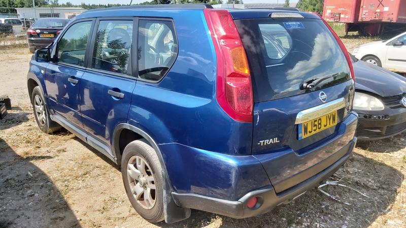 Naudotos automobilio dalys Nissan X-TRAIL 2009 2.0 Mechaninė Visureigis 4/5 d. Melyna 2021-7-22