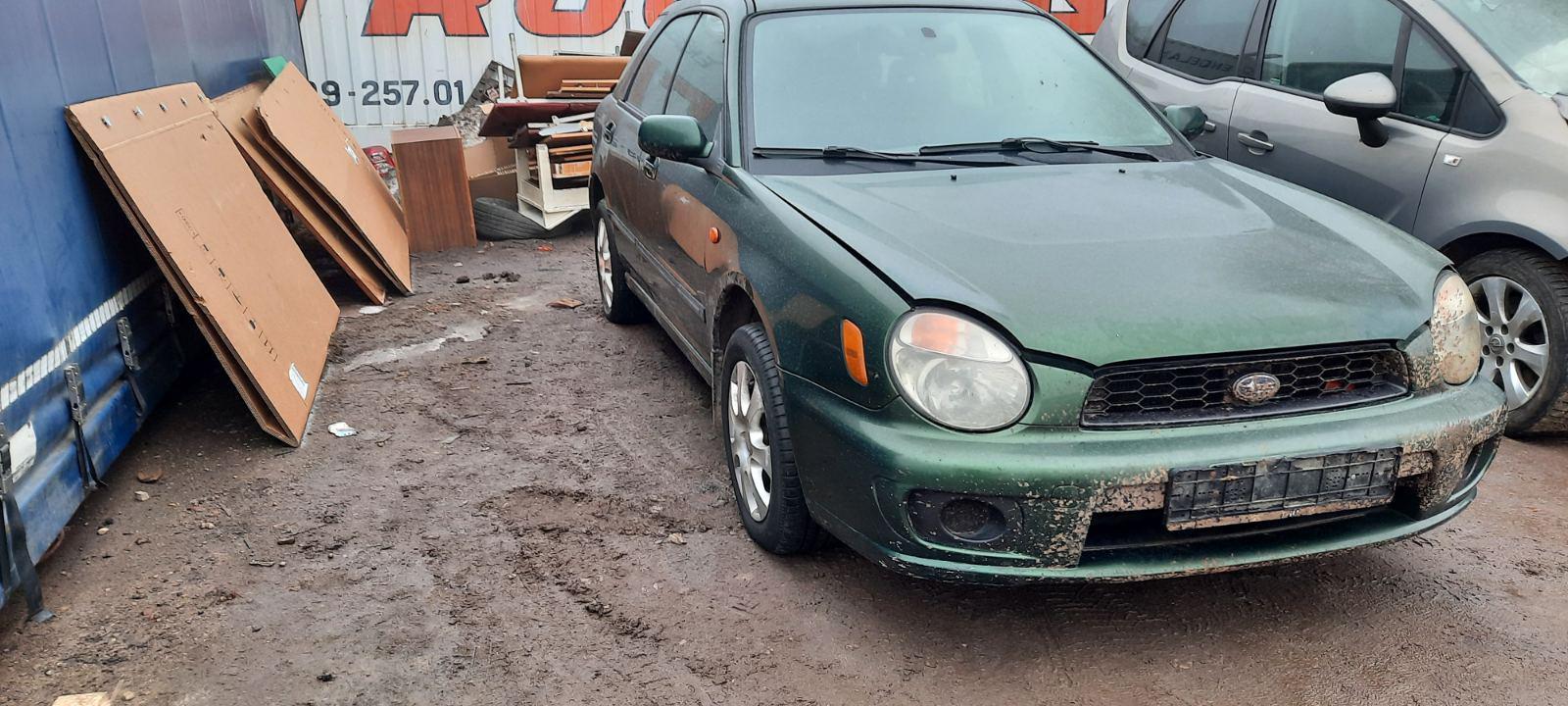 Подержанные Автозапчасти Subaru IMPREZA 2002 1.6 машиностроение универсал 4/5 d. зеленый 2021-3-04
