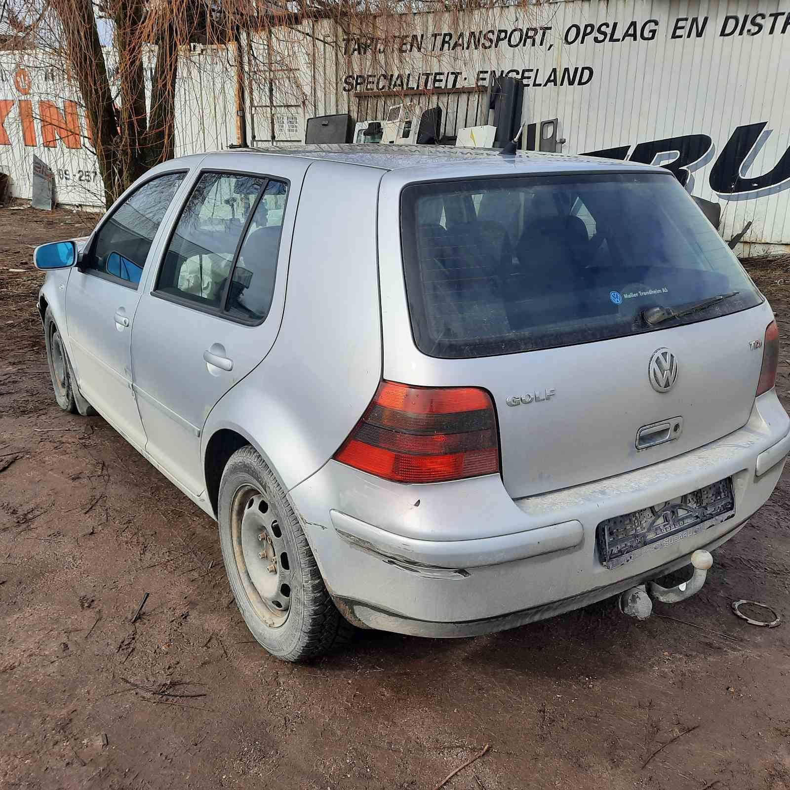 Naudotos automobiliu dallys Foto 8 Volkswagen GOLF 2001 1.9 Automatinė Hečbekas 4/5 d. Pilka 2021-4-02 A6129