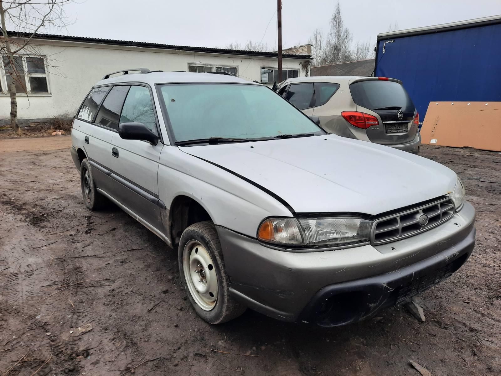 Подержанные Автозапчасти Subaru OUTBACK 1999 2.5 автоматическая универсал 4/5 d. серебро 2021-3-04