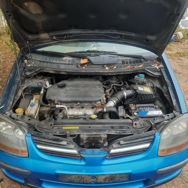 Naudotos automobiliu dallys Foto 3 Nissan ALMERA TINO 2002 2.2 Mechaninė Vienatūris 4/5 d. Melyna 2021-10-14 A6740