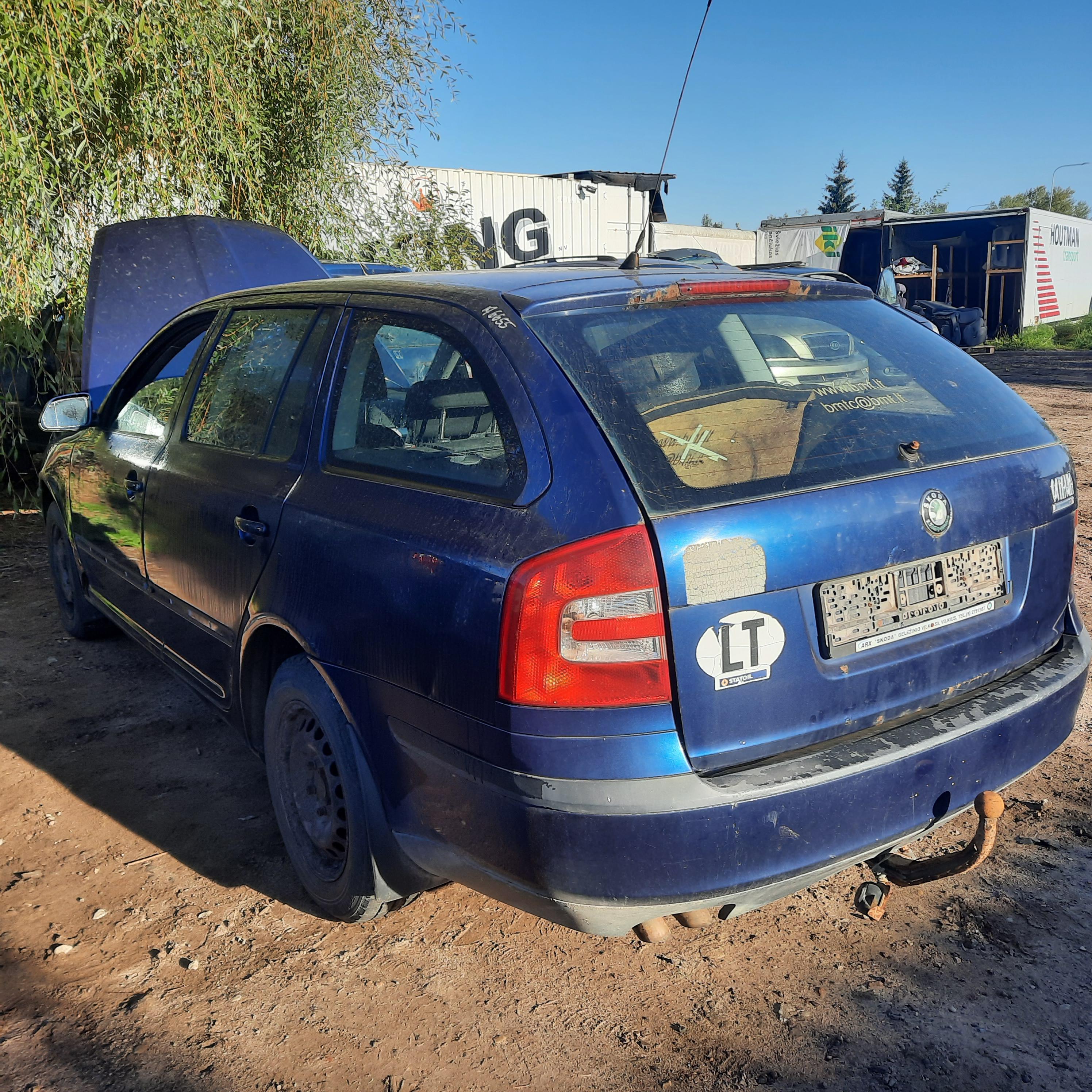 Naudotos automobiliu dallys Foto 4 Skoda OCTAVIA 2007 2.0 Mechaninė Universalas 4/5 d. Melyna 2021-9-15 A6655