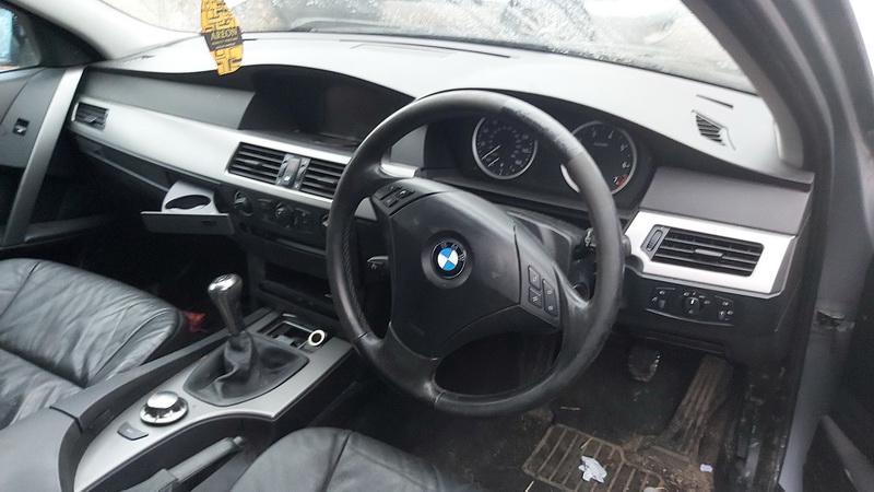 Naudotos automobilio dalys BMW 5-SERIES 2004 2.2 Mechaninė Sedanas 4/5 d. Pilka 2021-1-05