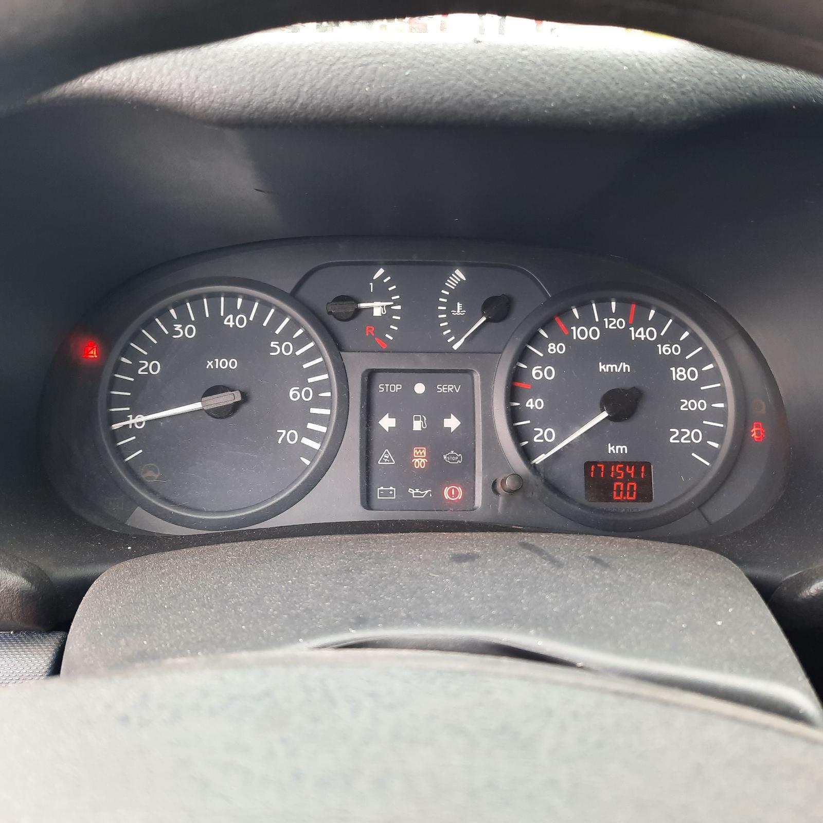 Naudotos automobilio dalys Renault CLIO 2002 1.5 Mechaninė Hečbekas 4/5 d. Juoda 2021-8-04