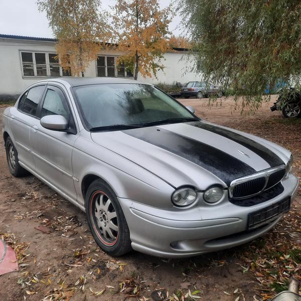 Naudotos automobiliu dallys Foto 1 Jaguar X-TYPE 2004 2.0 Mechaninė Sedanas 4/5 d. Pilka 2021-10-13 A6738
