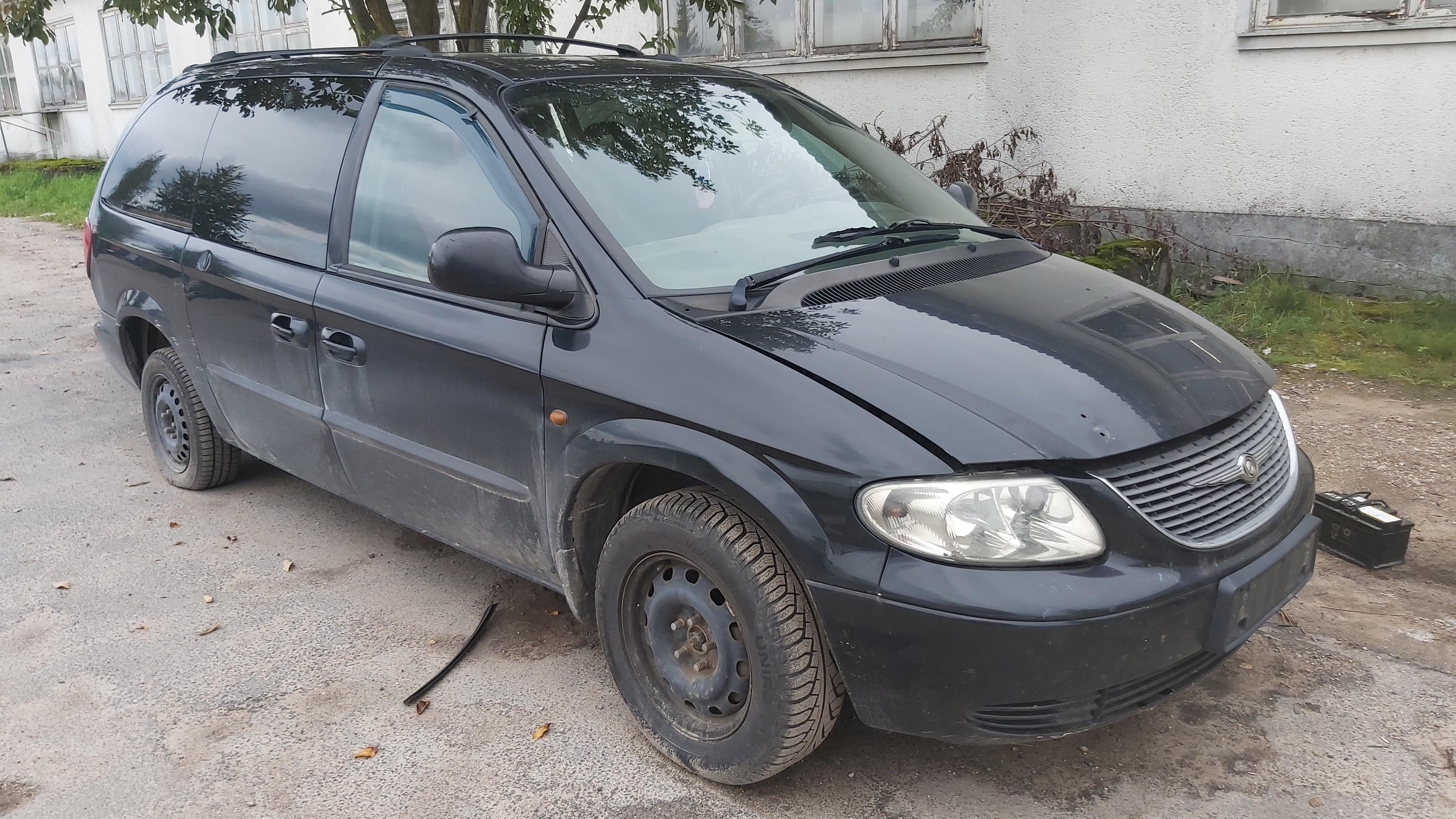 Naudotos automobilio dalys Chrysler VOYAGER 2003 2.5 Mechaninė Vienatūris 4/5 d. Juoda 2021-8-28