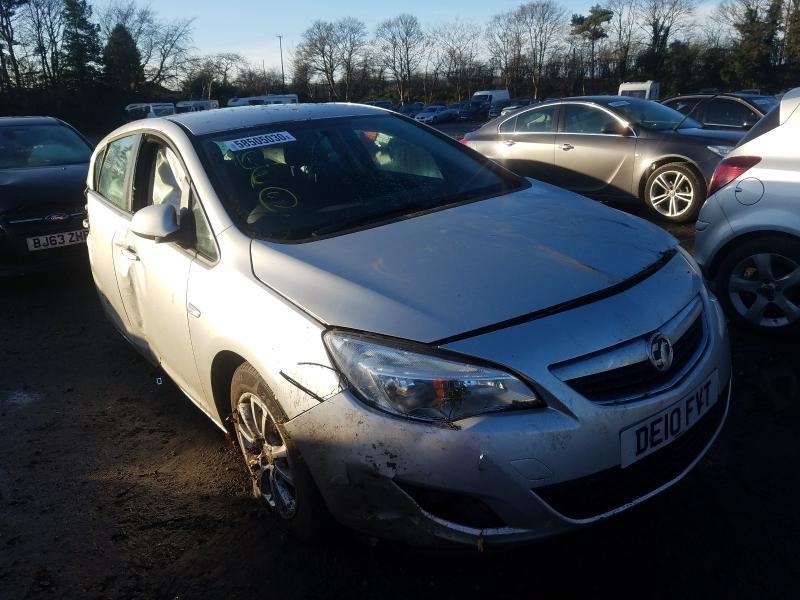 Naudotos automobilio dalys Opel ASTRA 2010 1.4 Mechaninė Hečbekas 4/5 d. Sidabrine 2021-1-08