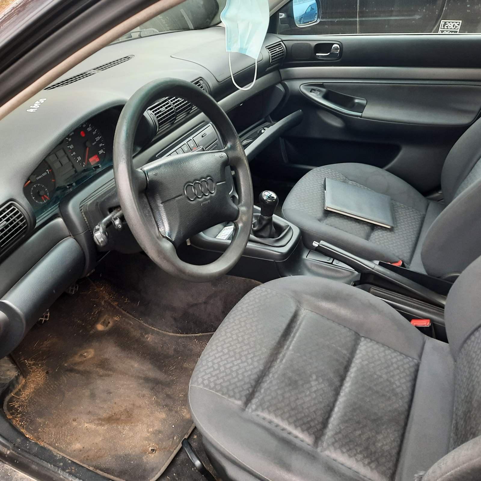 Naudotos automobilio dalys Audi A4 1996 1.6 Mechaninė Sedanas 4/5 d. Melyna 2021-4-16