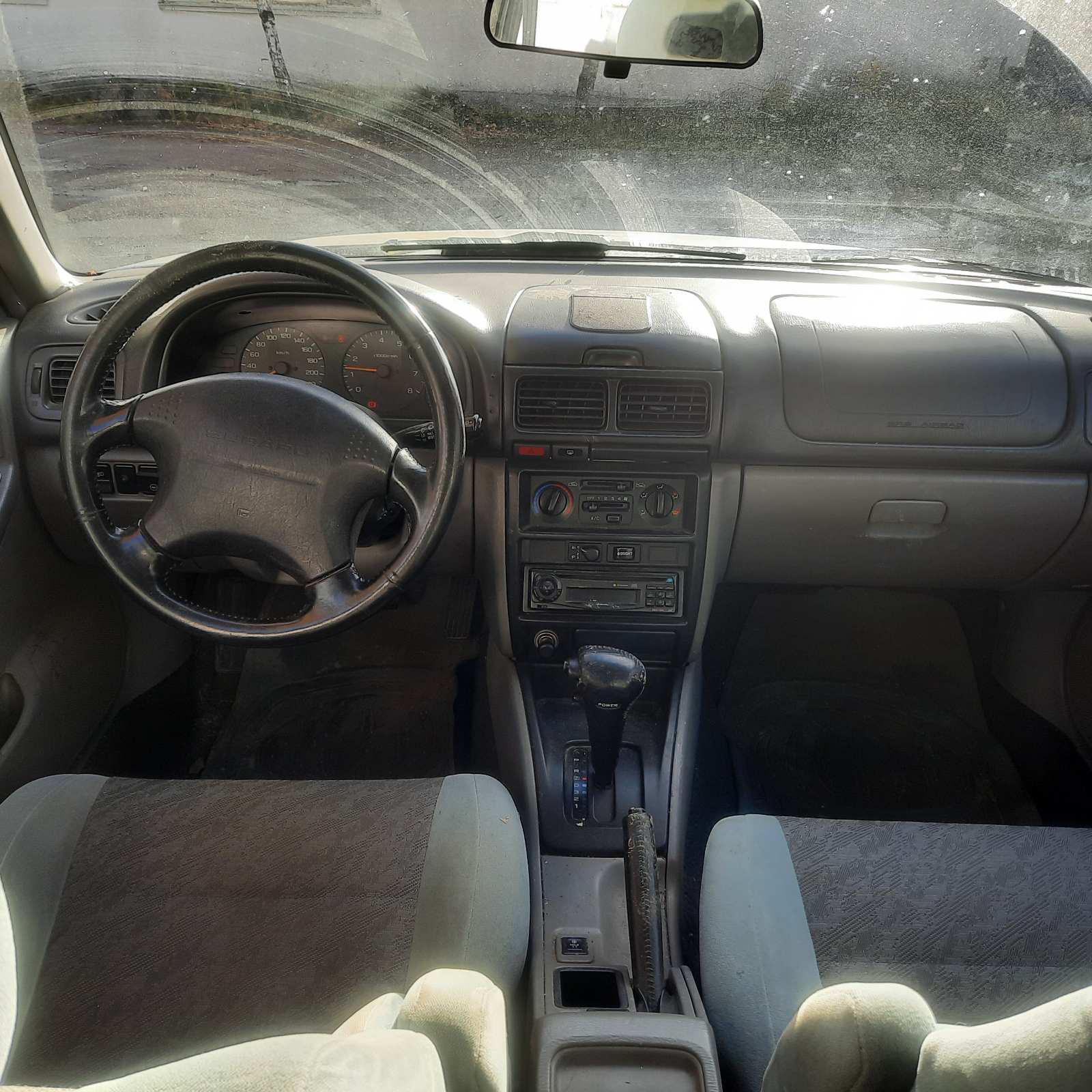 Naudotos automobilio dalys Subaru FORESTER 1999 2.0 Automatinė Visureigis 4/5 d. Balta 2021-10-22