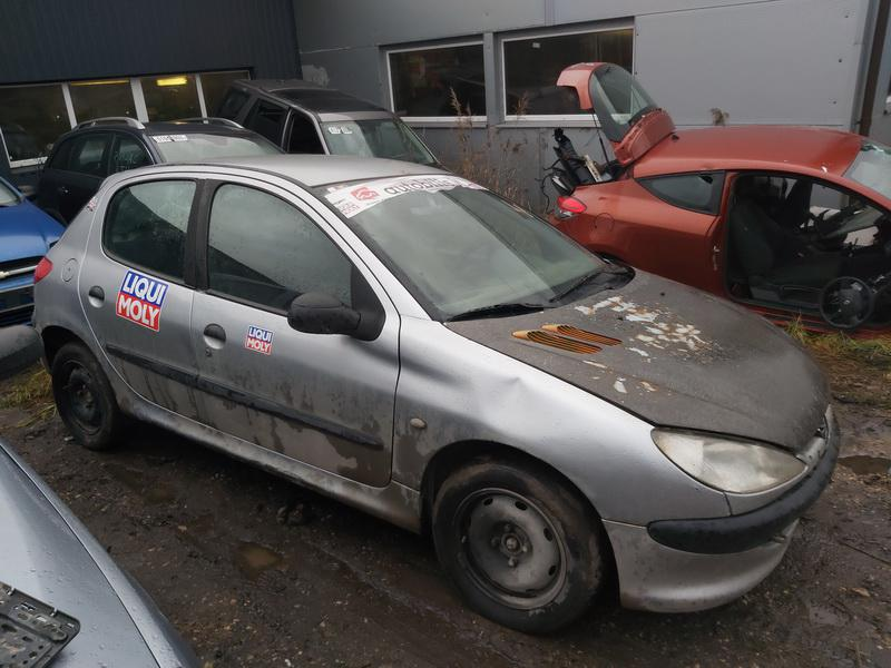 Naudotos automobilio dalys Peugeot 206 2000 1.1 Mechaninė Hečbekas 4/5 d. Pilka 2020-11-21