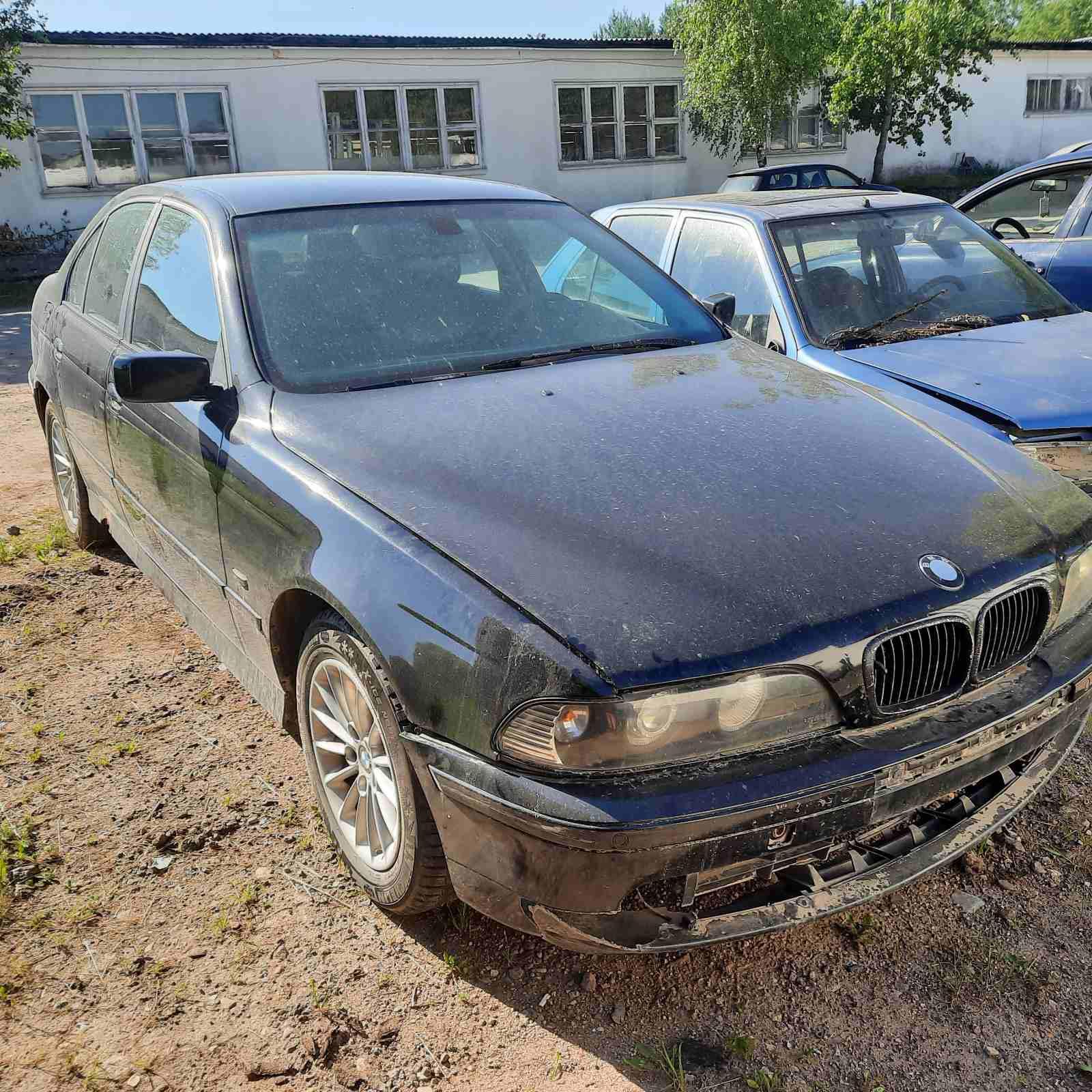Naudotos automobilio dalys BMW 5-SERIES 1996 2.5 Mechaninė Sedanas 4/5 d. Juoda 2021-6-18
