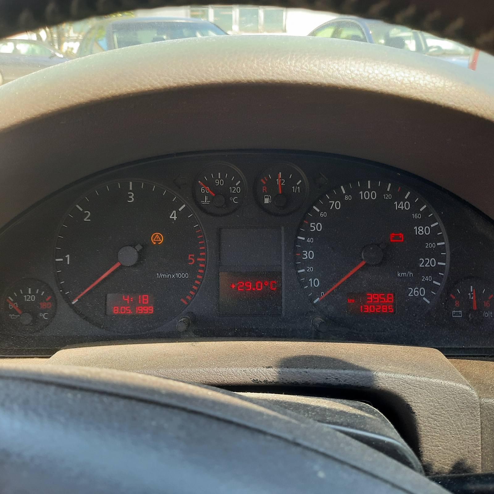 Подержанные Автозапчасти Audi A6 1999 2.5 машиностроение седан 4/5 d. синий 2021-6-16