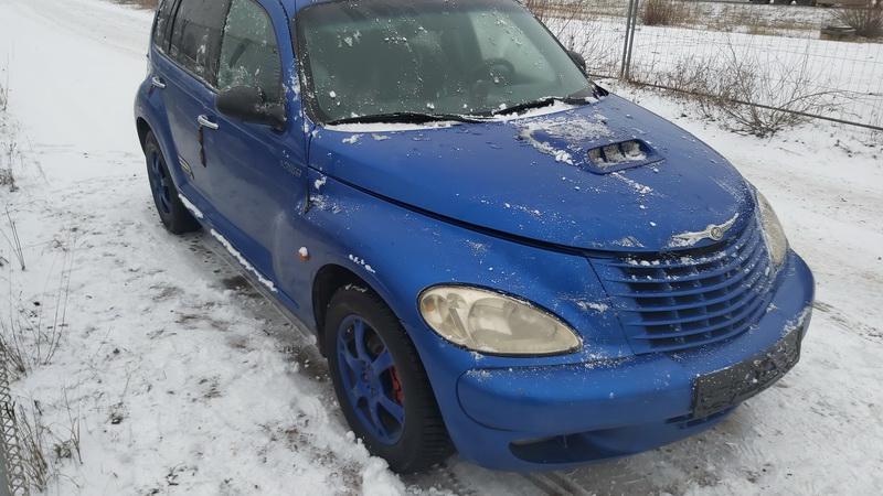 Naudotos automobilio dalys Chrysler PT CRUISER 2003 2.2 Mechaninė Hečbekas 4/5 d. Melyna 2020-12-02