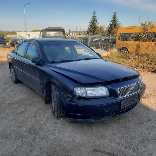 Naudotos automobilio dalys Volvo S80 2000 2.5 Mechaninė Sedanas 4/5 d. Melyna 2021-10-04