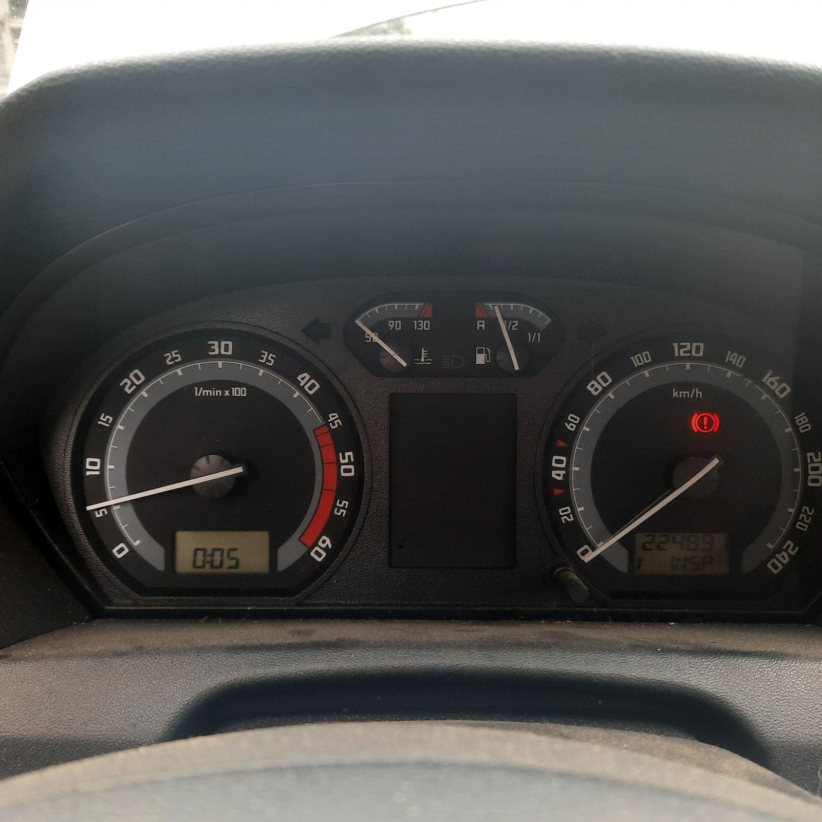 Naudotos automobilio dalys Skoda FABIA 2004 1.4 Mechaninė Hečbekas 4/5 d. Sidabrine 2021-8-13