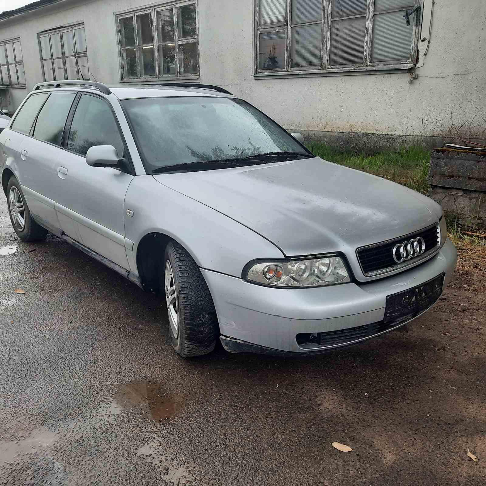 Подержанные Автозапчасти Audi A4 1999 1.6 машиностроение универсал 4/5 d. Серый 2021-7-22