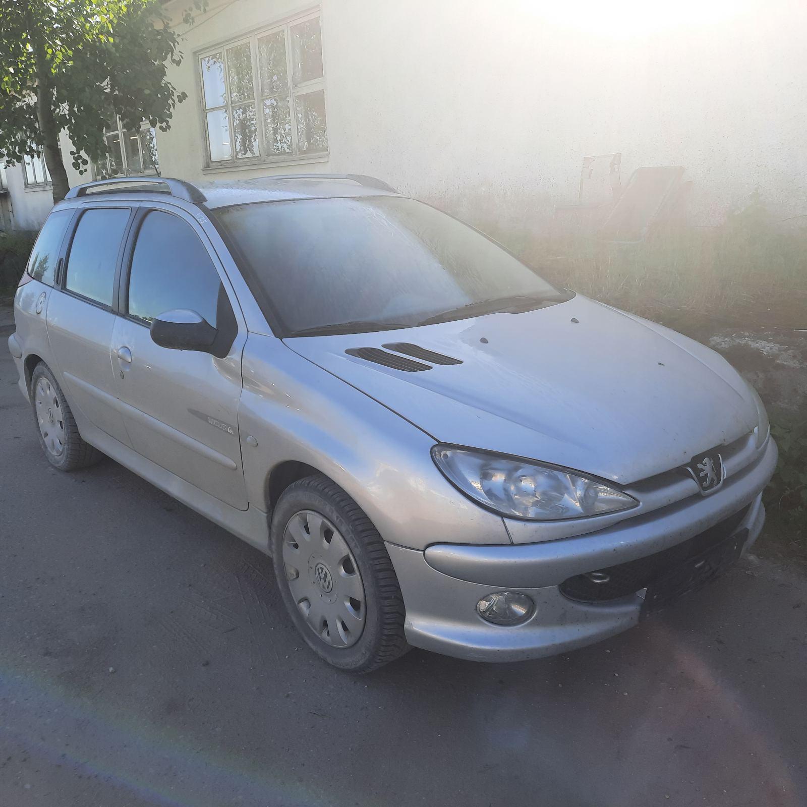 Подержанные Автозапчасти Peugeot 206 2003 2.0 машиностроение универсал 4/5 d. Серый 2021-6-16