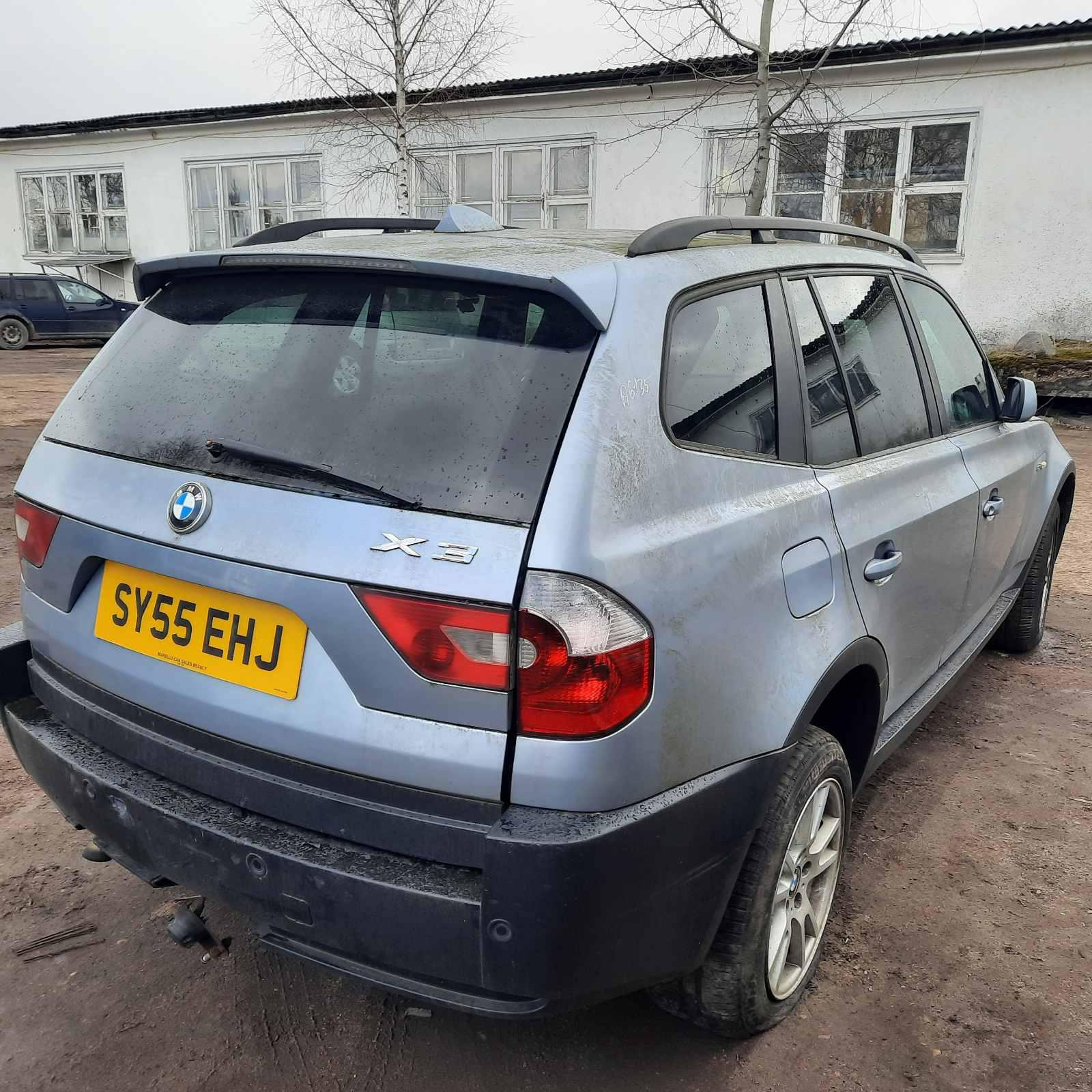 Naudotos automobiliu dallys Foto 7 BMW X3 2005 2.0 Mechaninė Visureigis 4/5 d. Melyna 2021-4-07 A6135