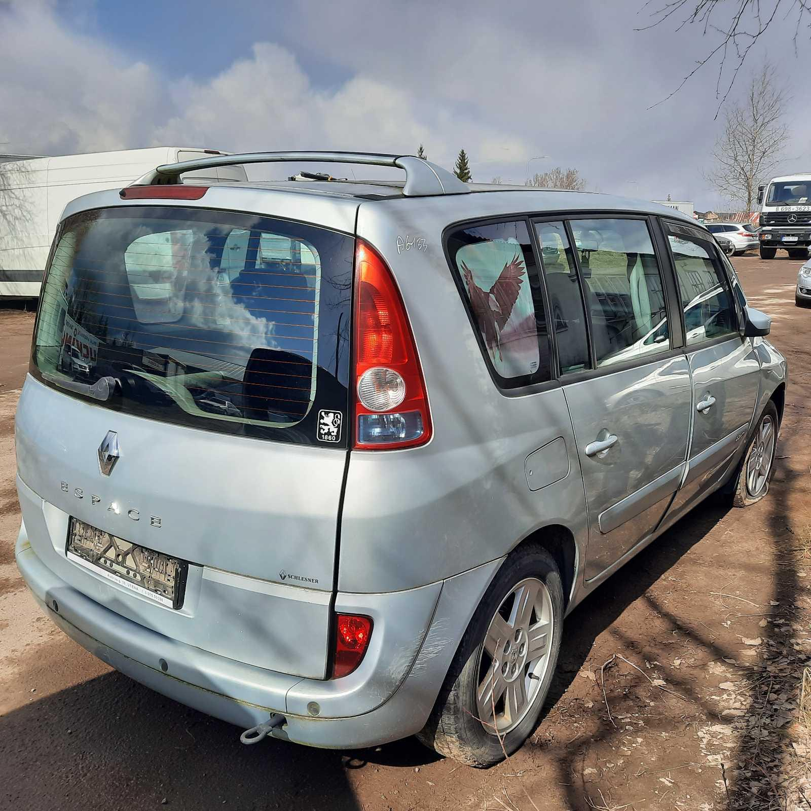 Used Car Parts Foto 8 Renault ESPACE 2004 2.2 Mechanical Minivan 4/5 d. Silver 2021-4-07 A6133