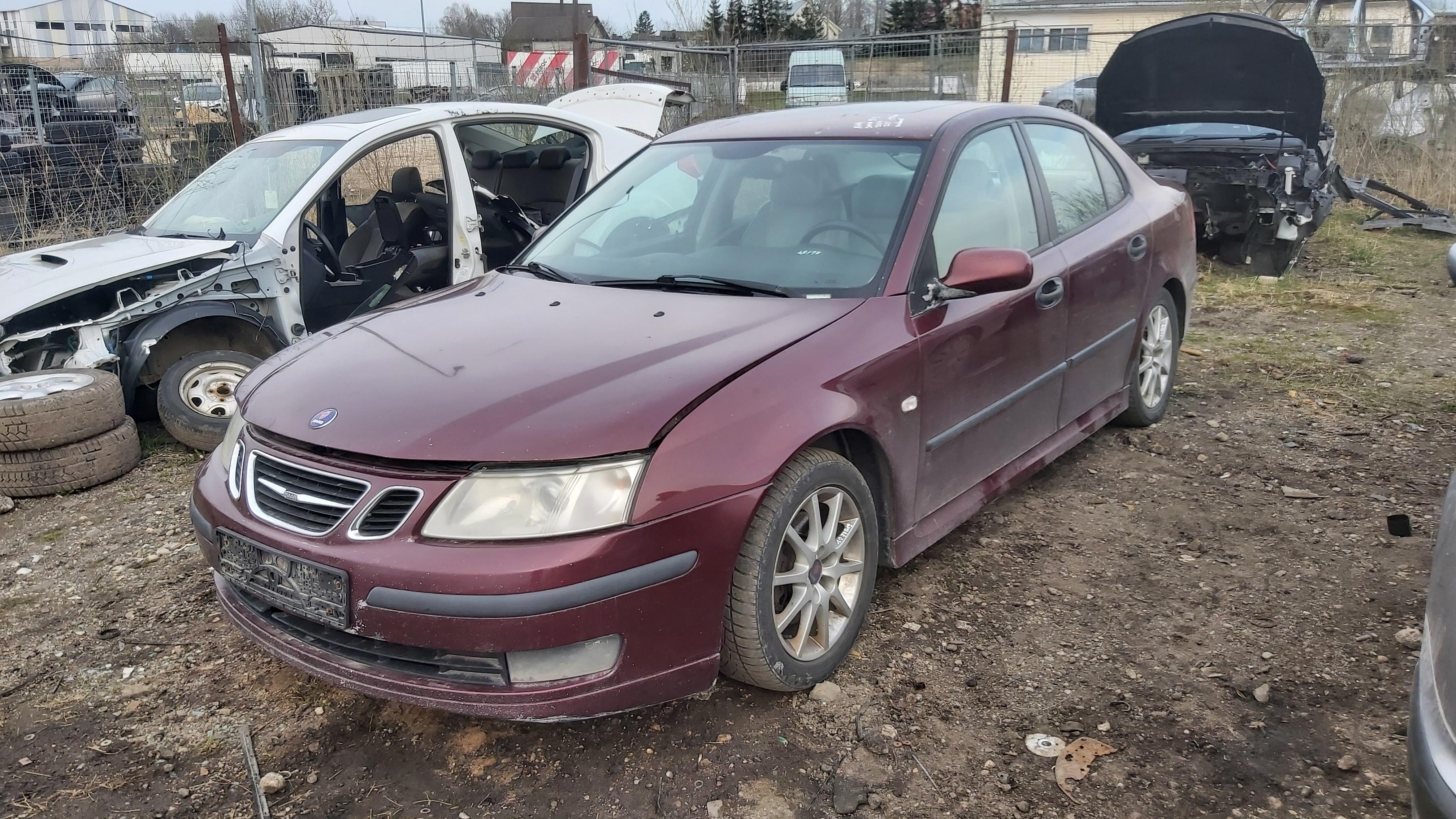 Naudotos automobiliu dallys Foto 3 SAAB 9-3 2004 2.0 Automatinė Sedanas 4/5 d. Raudona 2021-4-29 A6184