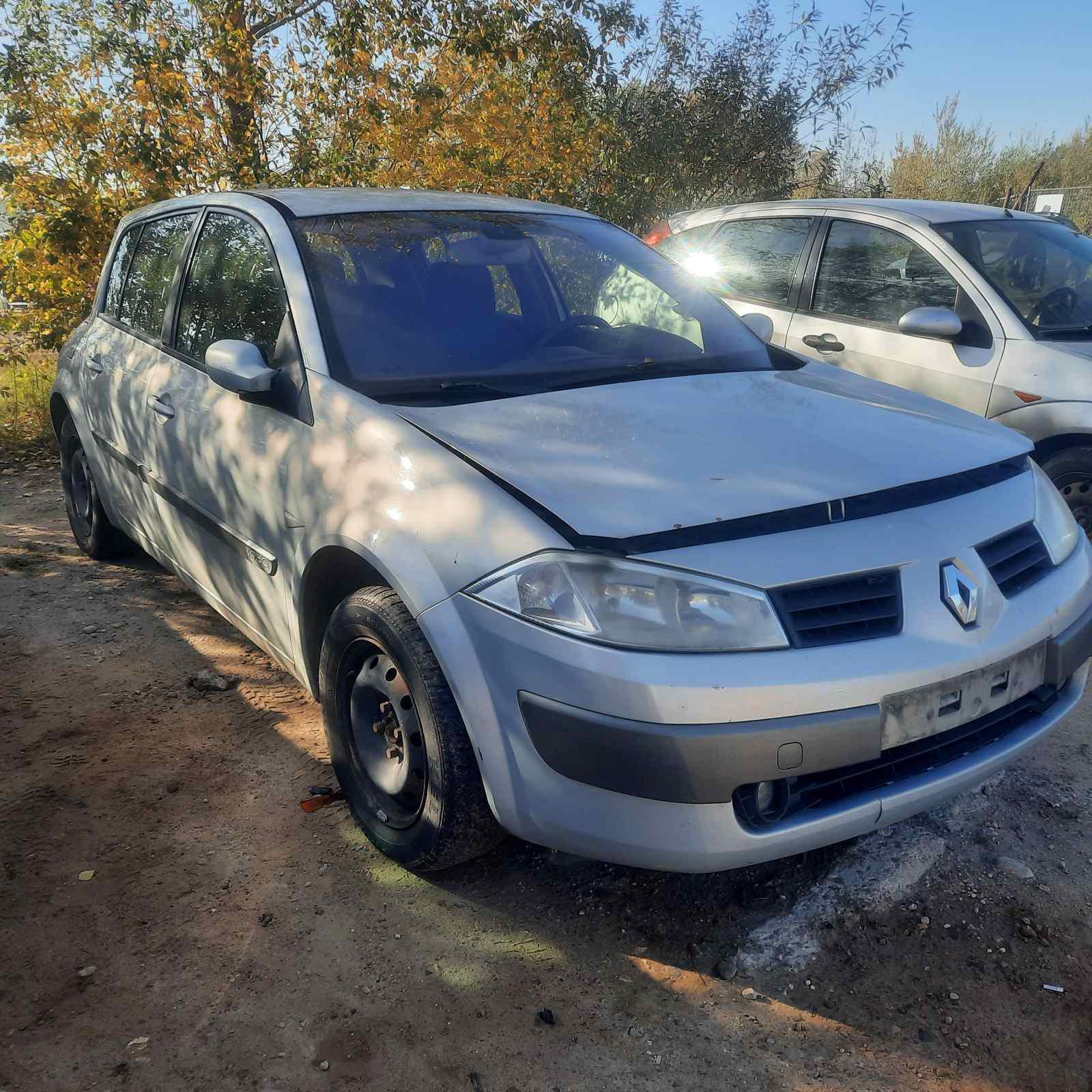 Naudotos automobilio dalys Renault MEGANE 2003 1.9 Mechaninė Hečbekas 4/5 d. Pilka 2021-10-07