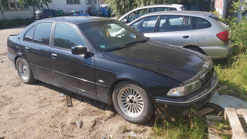 Naudotos automobilio dalys BMW 5-SERIES 1997 2.0 Mechaninė Sedanas 4/5 d. Juoda 2021-7-01