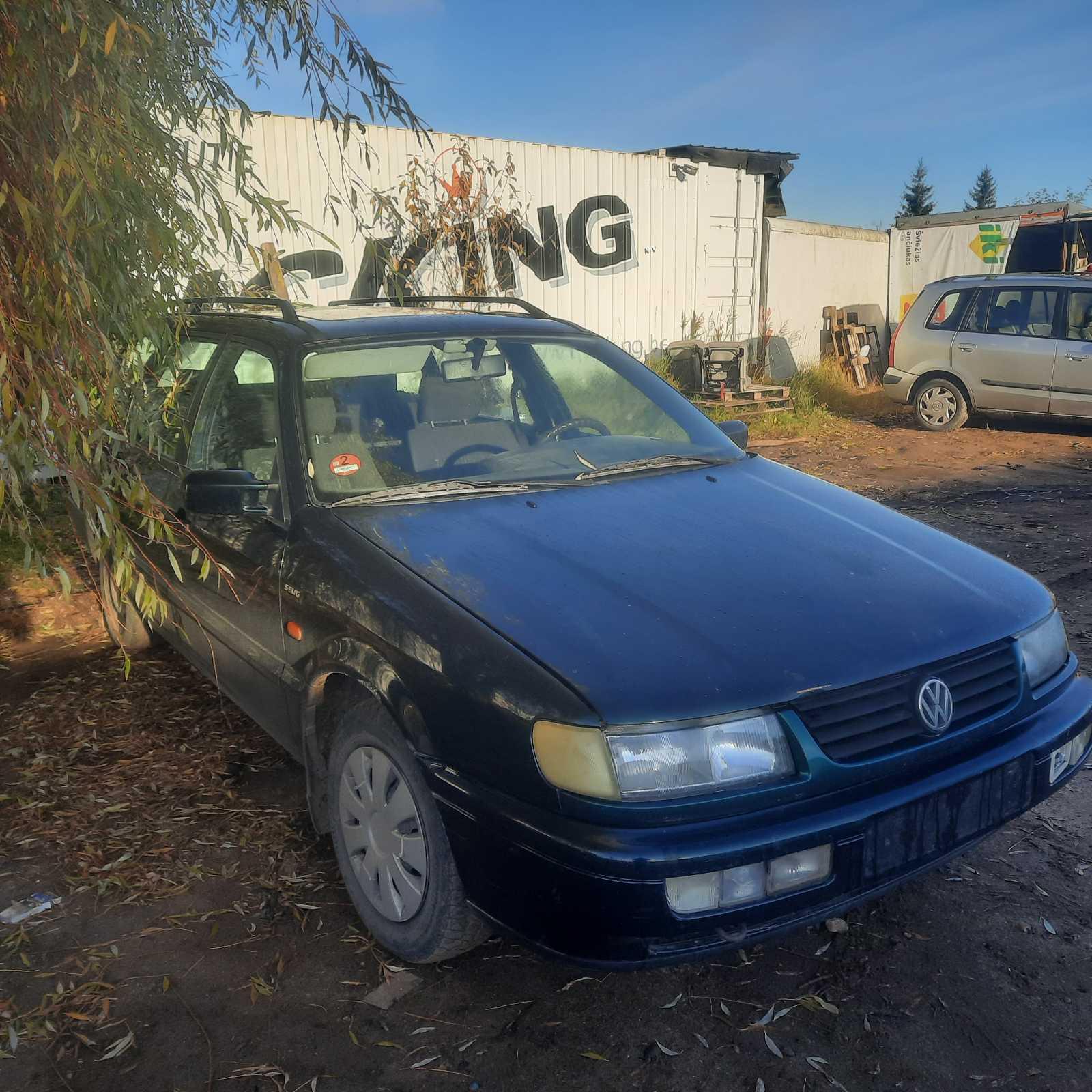 Naudotos automobilio dalys Volkswagen PASSAT 1995 1.9 Mechaninė Universalas 4/5 d. Zalia 2021-10-14
