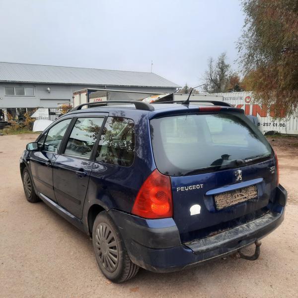 Naudotos automobiliu dallys Foto 4 Peugeot 307 2005 1.6 Mechaninė Universalas 4/5 d. Melyna 2021-10-14 A6742