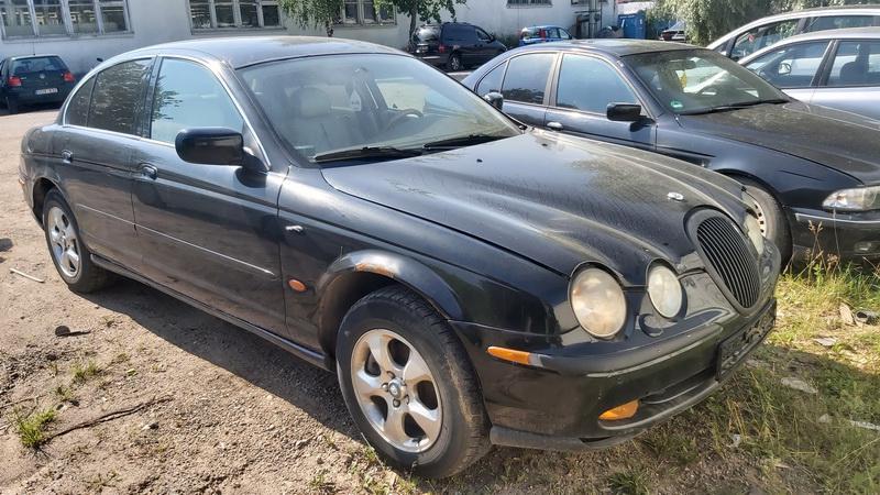 Naudotos automobilio dalys Jaguar S-TYPE 2000 3 Mechaninė Sedanas 4/5 d. Juoda 2021-6-25