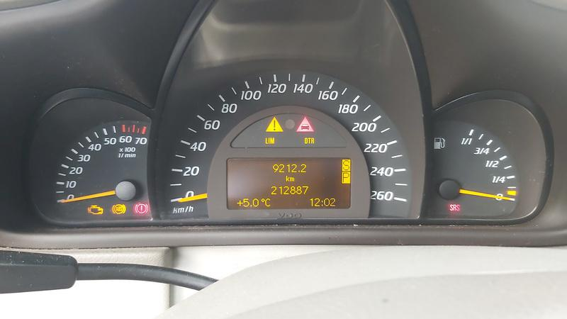 Naudotos automobilio dalys Mercedes-Benz C-CLASS 2002 2.3 Automatinė Hečbekas 2/3 d. Melyna 2020-12-30
