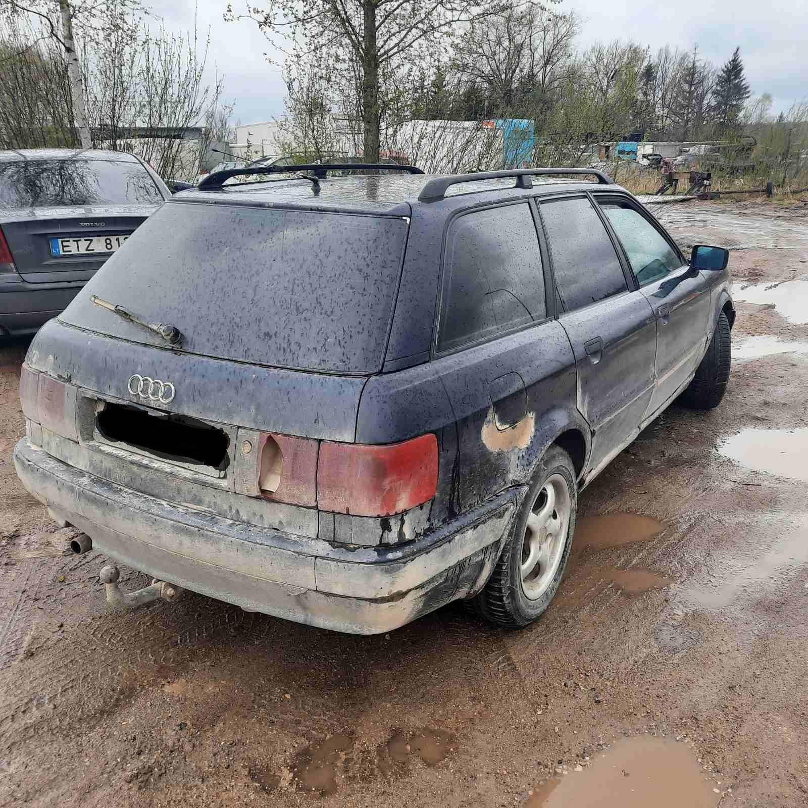 Naudotos automobiliu dallys Foto 7 Audi 80 1994 1.9 Mechaninė Universalas 4/5 d. Melyna 2021-5-06 A6199