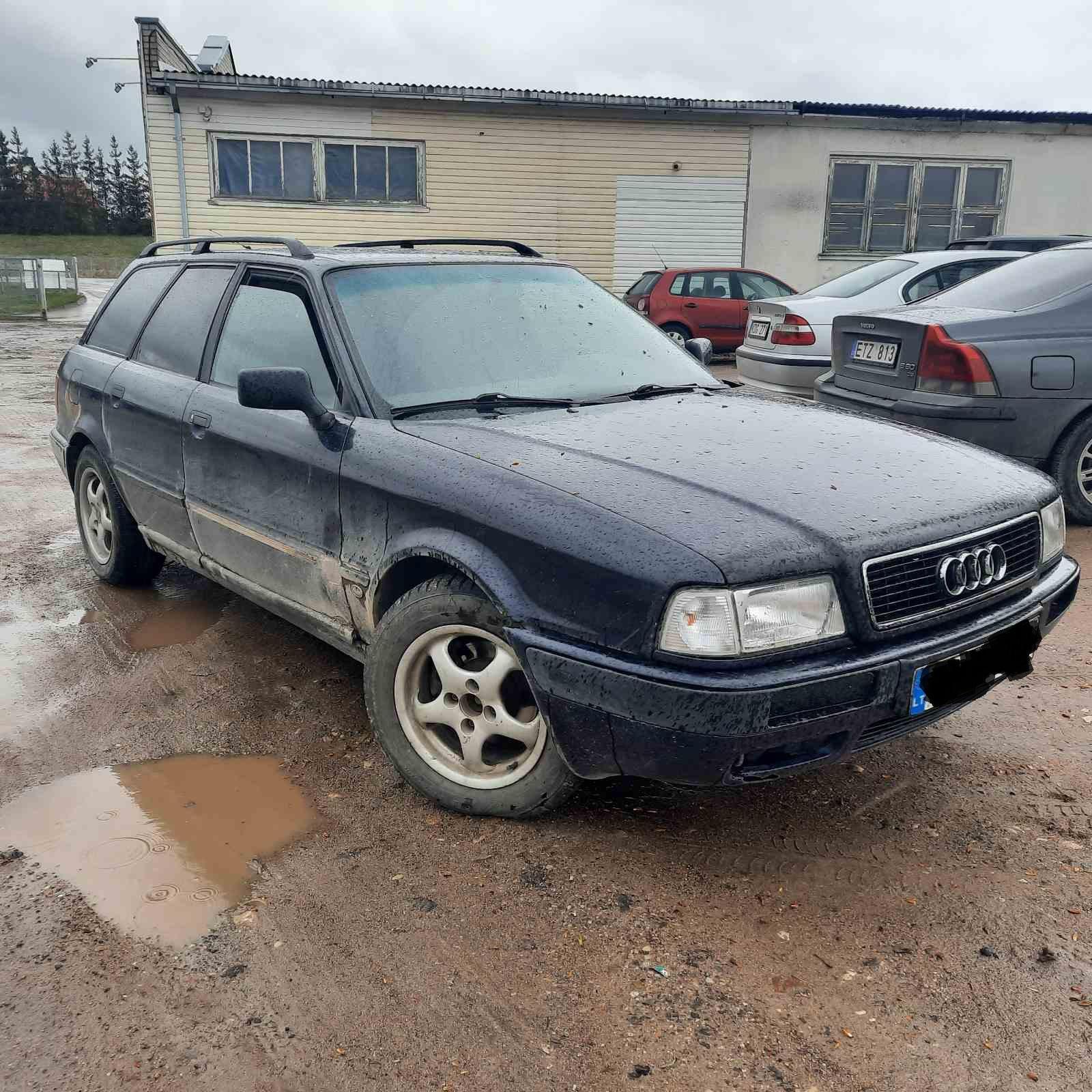 Naudotos automobilio dalys Audi 80 1994 1.9 Mechaninė Universalas 4/5 d. Melyna 2021-5-06