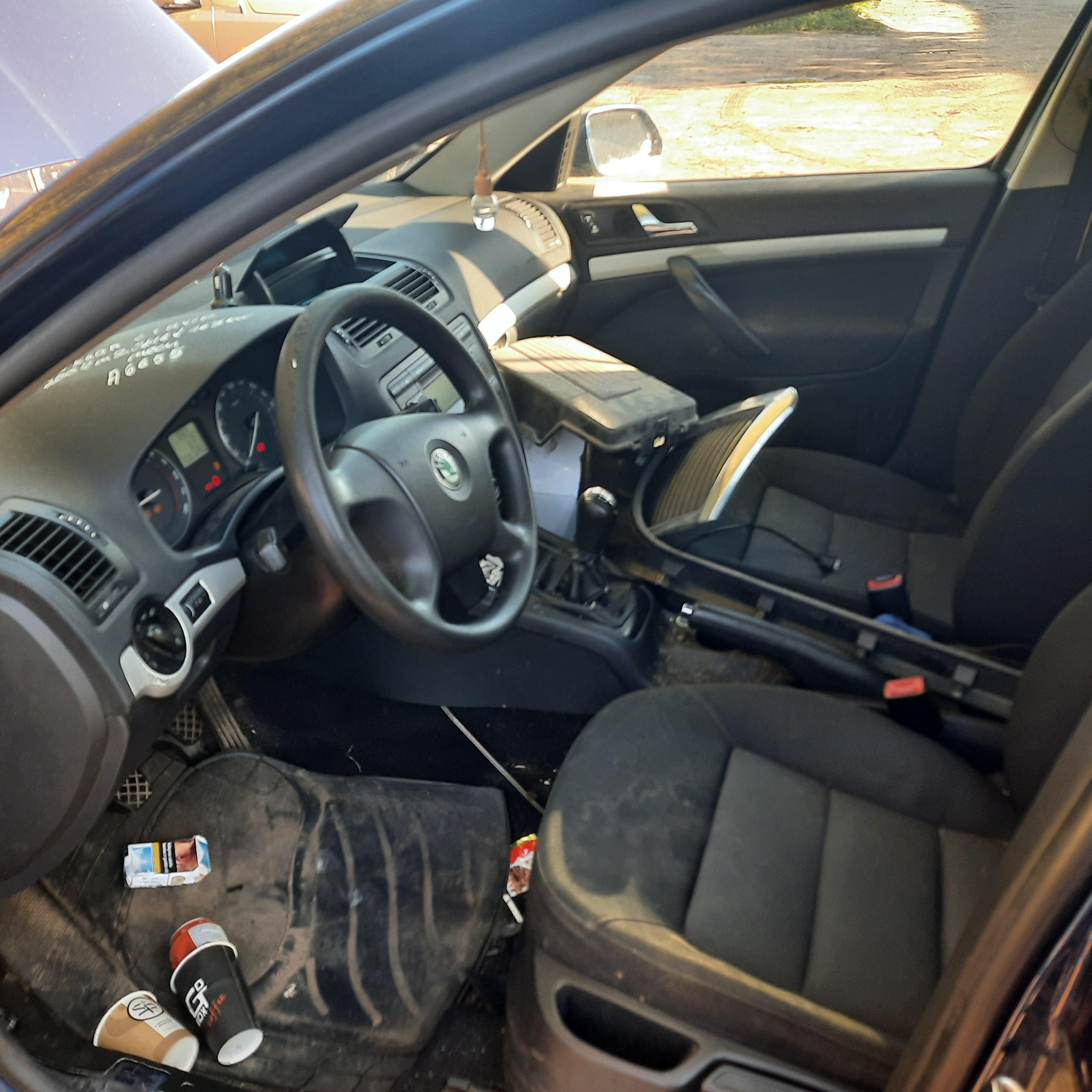 Naudotos automobilio dalys Skoda OCTAVIA 2007 2.0 Mechaninė Universalas 4/5 d. Melyna 2021-9-15